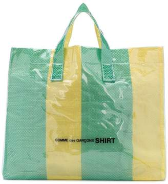 Comme des Garcons picnic sheet tote bag
