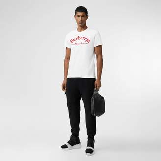Burberry Archive Logo Cotton T-shirt