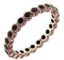 Couture SETHI Bezel Set Diamond Stacking Ring