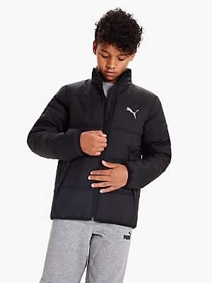 Puma Boys' Ess Padded Jacket, Black