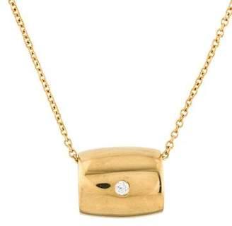 Piaget 18K Diamond Pendant Necklace