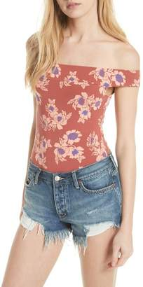 Free People So Much Off the Shoulder Bodysuit