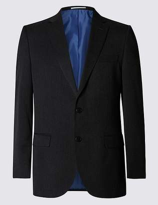 Marks and Spencer Big & Tall Charcoal Slim Fit Jacket
