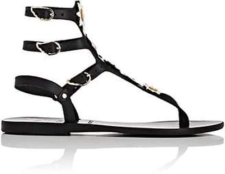 Ancient Greek Sandals Women's Valentina Leather Sandals - Black
