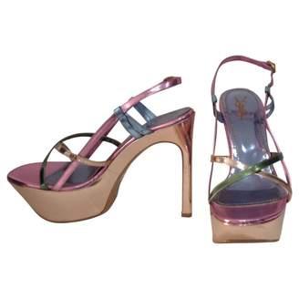 Saint Laurent Multicolour Patent leather Heels