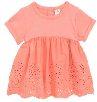 Tucker + Tate Eyelet Embroidered Top