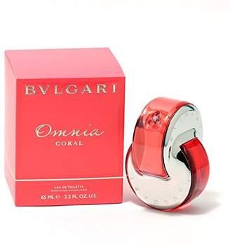 Bulgari Bvlgari Omnia Coral Eau de Toilette Spray for Women, 2.2 Fluid Ounce by BVLGARI [Beauty]