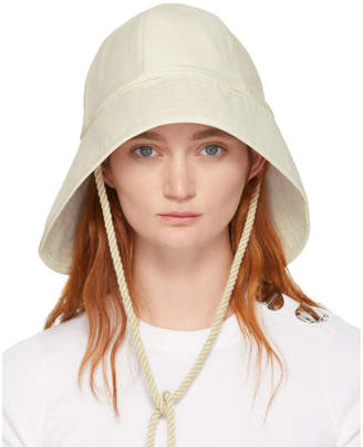 3.1 Phillip Lim Off-White Sporting Bucket Hat