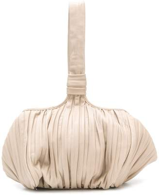 Max Mara pleated satchel bag