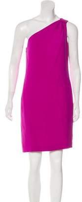 Tory Burch Silk One-Shoulder Mini Dress
