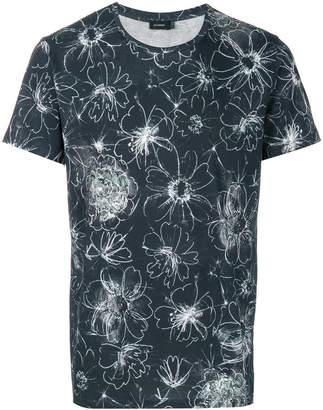 Jil Sander floral motif T-shirt