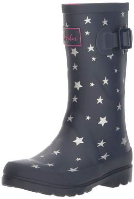 Joules Kids Baby Girl's Printed Welly Rain Boot (Toddler/Little Kid/Big Kid) M