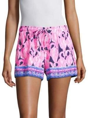 Lilly Pulitzer Katia Flamingo Shorts