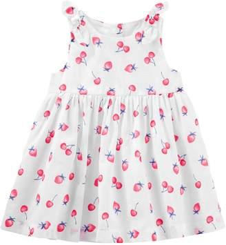 Osh Kosh Oshkosh Bgosh Baby Girl Fruit Bow Dress