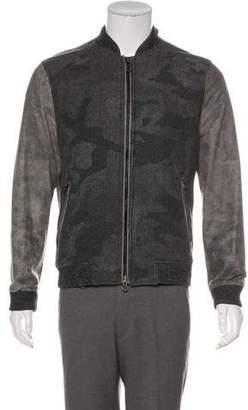 Robert Graham Wool Bomber Jacket