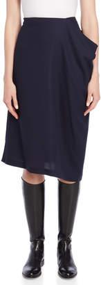 Jil Sander Side Pocket Midi Skirt