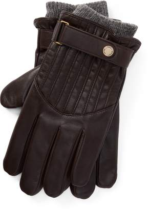 Ralph Lauren Quilted Leather Racing Gloves