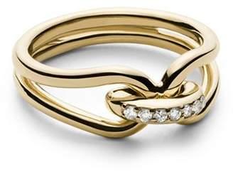 Shinola 14K Yellow Gold Lug Ring