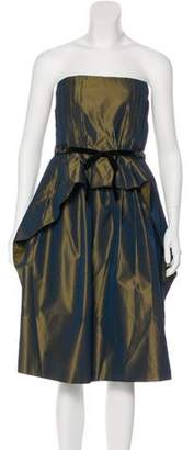 Robert Rodriguez Strapless Mini Dress w/ Tags