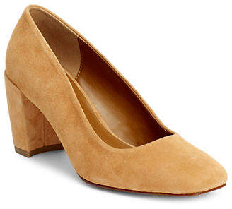 Halston H Slip-On Suede Pumps