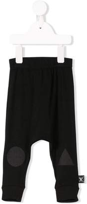 Nununu shapes print trousers