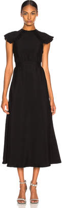 Calvin Klein Viscose Cady Cap Sleeve Dress