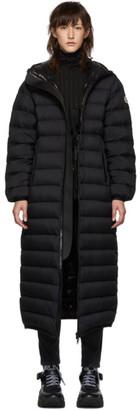 Moncler Black Down Grue Long Coat