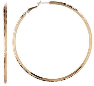 Ettika Twisted Large Hoop Earrings