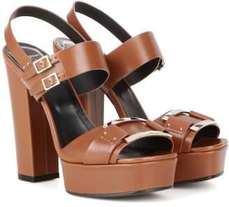 Roger Vivier Embellished leather sandals