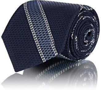 Mens Striped Silk Jacquard Necktie Fairfax zYt0RHS