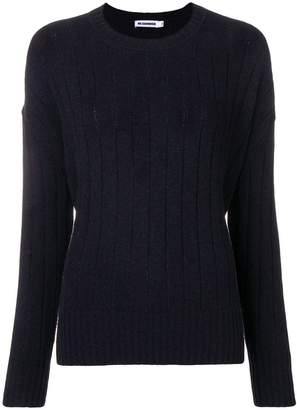 Jil Sander ribbed knit sweater