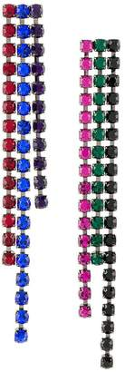 Christopher Kane crystal drop earrings