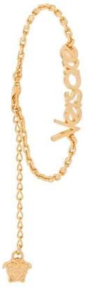 Versace dainty logo bracelet