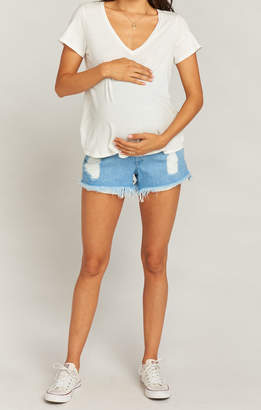 Show Me Your Mumu Maternity Cabo Shorts ~ Tide