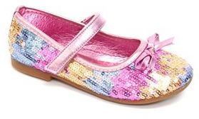 Rugged Bear Toddler Girls' Sequin Mary Jane Dress Shoes $39.99 thestylecure.com