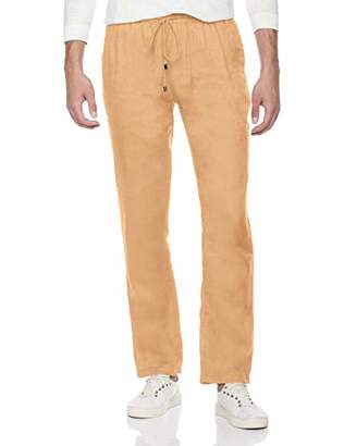 e3e70037d754 Isle Bay Linens Men's Relaxed Fit Pant with Drawstring
