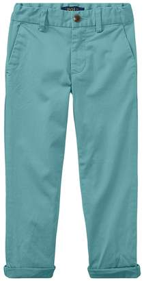 Polo Ralph Lauren Stretch Cotton Skinny Chino Pants Boy's Casual Pants