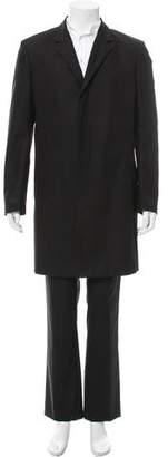 Jeffrey Rüdes Notch-Lapel Duster Coat w/ Tags