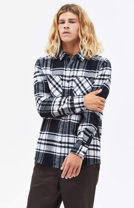 Volcom Weirdoh Faded Plaid Flannel Shirt