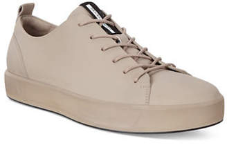 Ecco Soft 8 Low-Top Leather Sneakers
