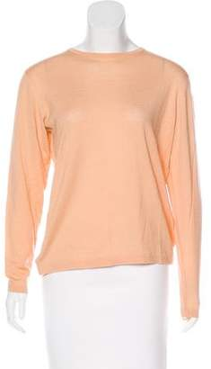 TSE Wool Long Sleeve Top