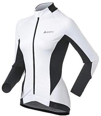 Odlo Womens Cover Ls F Zip Ladies Long Sleeve Cycle Jacket Cycling