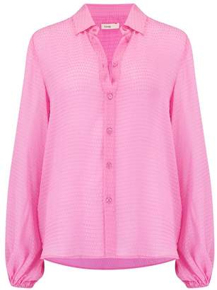 Felina Levete Room Textured Shirt in Fuchsia