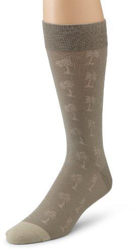 Tommy Bahama Mens Palm Logo Socks