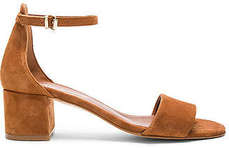 Free People Marigold Block Heel in Cognac $128 thestylecure.com