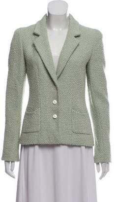 Chanel Tweed Wool-Blend Blazer