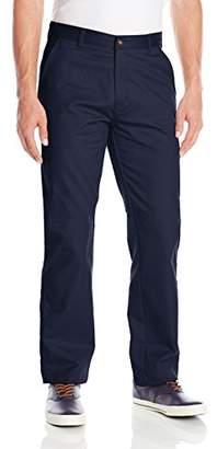 Izod Uniform Young Men's Flat Front Straight Fit Pant
