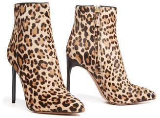 Alice + Olivia Celyn Leopard Bootie