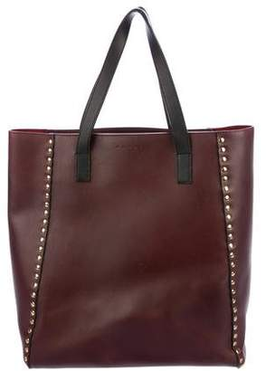Marni Studded Leather Tote