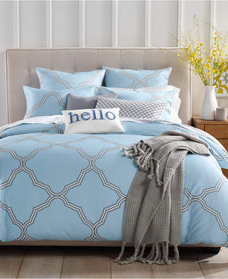 Charter Club Tile Geo Duvet Cover Sets, Created for Macy's